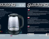 Electric kettle Guzzanti GZ 208