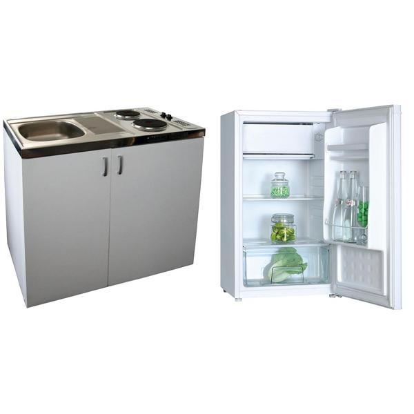 Set Mini Kitchen Guzzanti Gz Mk200 Refridgerator Gz 10 Guzzanti